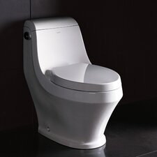 Adonis Contemporary 1 Piece 1.6 GPF Elongated Toilet