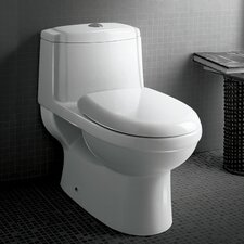 Platinum Anna Dual Flush Elongated Toilet 1 Piece