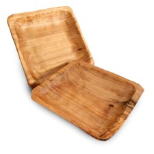 Square Root Plate (Set of 2)