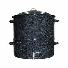 Graniteware 19 Qt. Multi-Pot with Faucet