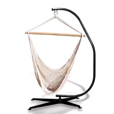 Suelo Stand and Rope Hammock Chair Combo