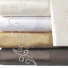Supreme Sateen 800 Thread Count Scroll Pillowcase (Set of 2)