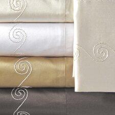 Supreme Sateen 800 Thread Count Swirl Pillowcase (Set of 2)