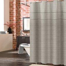 York Linen Shower Curtain