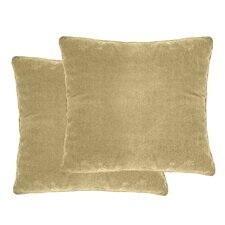 Luxury Velvet Throw Pillow (Set of 2)