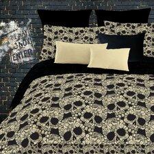 Flower Skulls Comforter Set