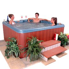 6-Person 53-Jet Punta Cana Wrap Around Lounger Spa