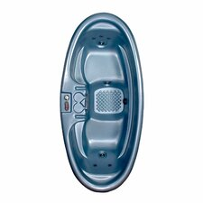 2 Person 8 Jet Plug-N-Play Duet Oval Spa