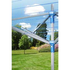 Rota Lift Plus Outdoor Dryer with 180' Total Line Length