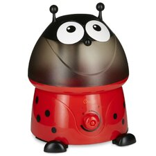 Lily Lady Bug 1 Gal. Cool Mist Ultrasonic Humidifier with Filter