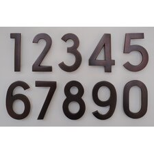 Pin Mount Address Number