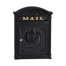 Wall Mounted Mail Vault with Lock