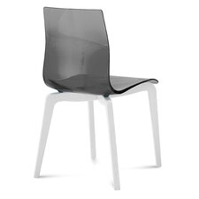 Gel-L Dining Chair with White Frame (Set of 2)