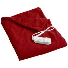 Comfort Knit Heated Cotton Throw