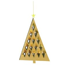 Prism Tree Mobile