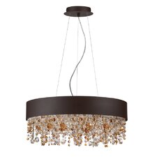 Romanelli 6 Light Crystal Chandelier