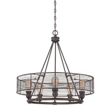Terra 5 Light Drum Chandelier