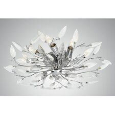 "18"" Felina Semi Flush Mount"