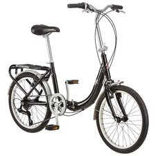 Folding Loop - Aluminum Frame 7 Speed Cruiser Bike