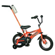 "Boy's Grit 12"" Bike With Push Handle"