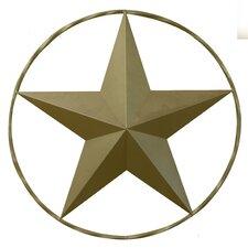 Ringed Star Wall Décor