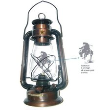 Bronze Rustic Lone Star Lantern