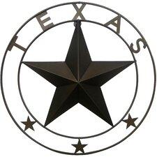 Double Ringed Texas Star Wall Décor