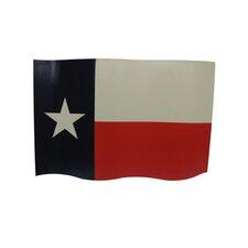 Waving Texas Traditional Flag