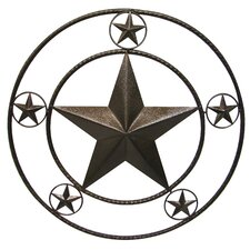 Double Ringed Star Wall Décor