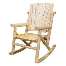 Aspen Cut Out Star Single Rocking Chair I