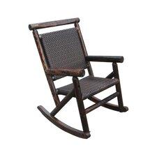 Char-Log Rattan Single Rocking Chair