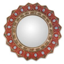 Ruby Medallion Wall Mirror