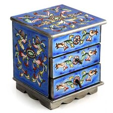 Celestial Blue Jewelry Box