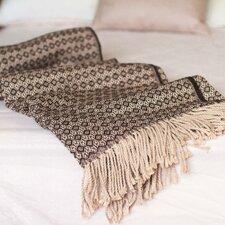 Handmade Alpaca Blend Cozy Modern Andean Style Throw Blanket