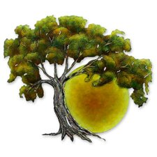 Alejandro de Esesarte Collectible Hand Painted Tree Steel Wall Decor