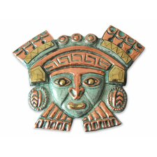 Angel Franco Hand Crafted Bronze and Copper Mask Wall Decor