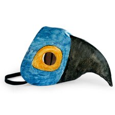 Marcílio Barroco Handmade Leather Mask Wall Decor