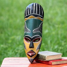 Our Traditions Wood African Mask Wall Décor