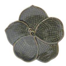 Duangkamol Artisan Floral Celadon Ceramic Serving Tray