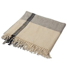 Story in Artisan Crafted Cotton Throw Blanket