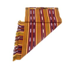 Path to Chichicastenango Hand Woven Cotton Table Runner