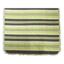 Fields of Oaxaca Hand Woven Striped Cotton Bedspread