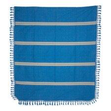 Oaxaca Ocean Hand Woven Cotton Bedspread