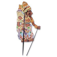 Rahwana the Ogre Cultural Leather Shadow Puppet Wall Décor