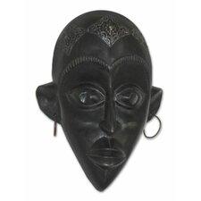 Hausa Beauty Unique Wood Mask Wall Décor