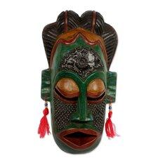 Juliana Akandas Thank You Nature Congo Zaire Wood Mask Wall Decor