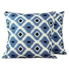 Anil Khandelwal India Cotton Print Throw Pillow Cover (Set of 2)