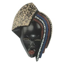 King's Child African Wood Mask Wall Décor