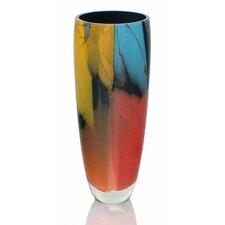 Elegance - Rim Hand Blown Art Glass Vase