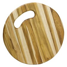 Teo Hernandez Artisan Circle of Life Teakwood Cutting Board